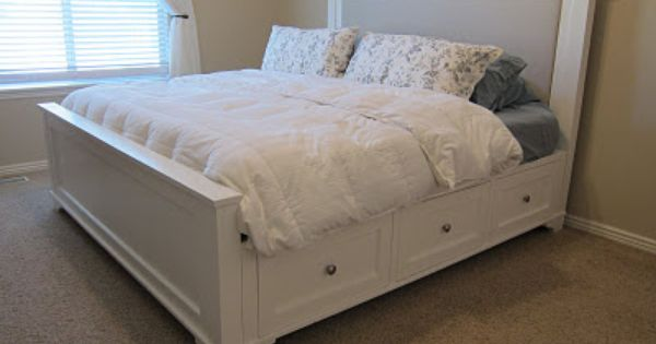 17 best images about diy bed frames on pinterest diy headboards upholstered beds and diy bed frame