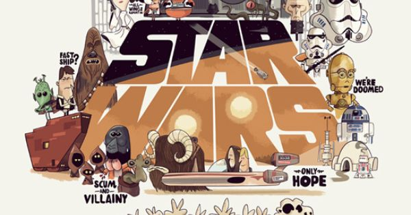 Art Star Wars geek