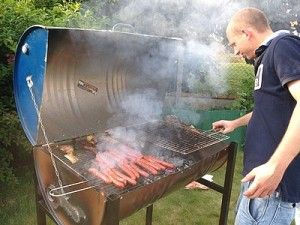 Comment Faire Un Barbecue Avec Un Fut Une Faire Un Barbecue Barbecue Recette Barbecue