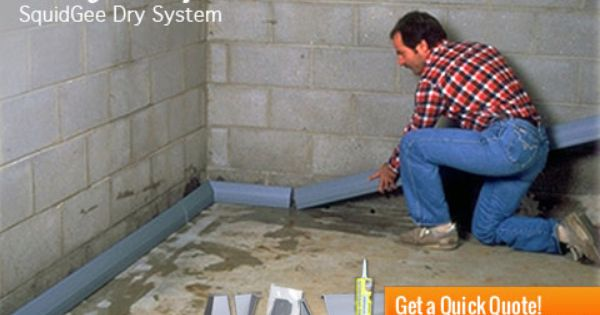 Basement Waterproofing System Products How To Waterproof A Basement Waterproofing Basement Basement Flooring Options Basement Waterproofing Diy