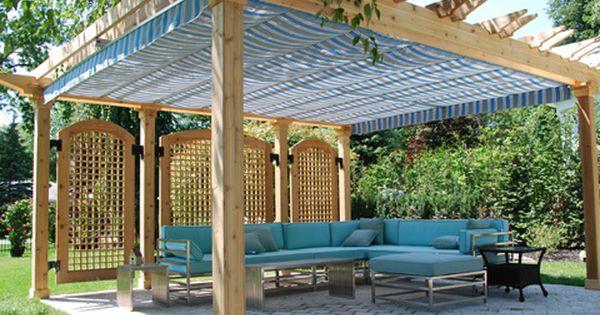 Retractable Pergola Canopy In Oakville Shadefx Canopies Patio Canopy Pergola Patio Pergola