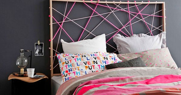 Oh My God! i L.O.V.E this head board/ bed head. oh and