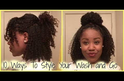 ways to style my natural hair hair 10 ways to style your wash and go 7525 | 679dd60d68f5b62368e2217fdaa1d273