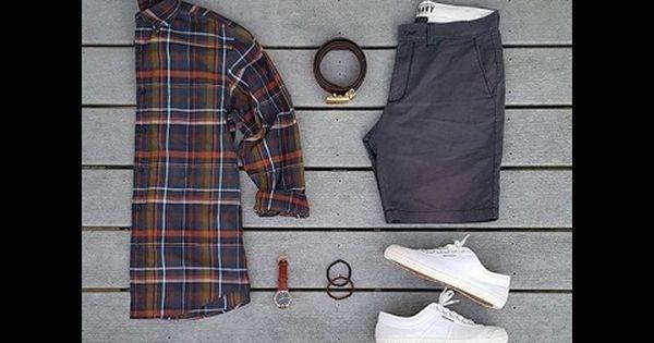 تنسيق الشورت الصيفي للرجال Two Piece Skirt Set Skirt Set Fashion