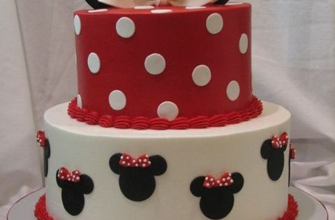 Excellent Mini Mouse birthday cake
