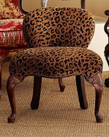 Leopard Print Chair Animal Prints 2dayslook Fashion Nice New