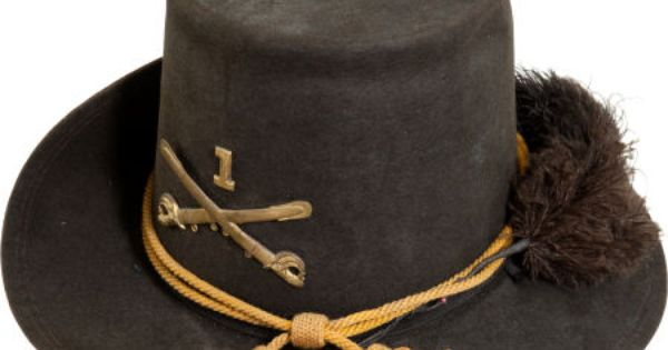 Us M1858 Cavalry Enlisted Man S Dress Hardee Hat Lot 32168 Heritage Auctions American Civil War Civil War Flags Cavalry