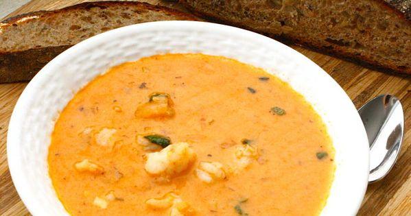 #Cajun Shrimp Bisque soup