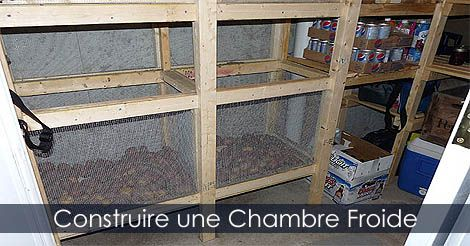 construire une chambre froide plan guide instructions. Black Bedroom Furniture Sets. Home Design Ideas