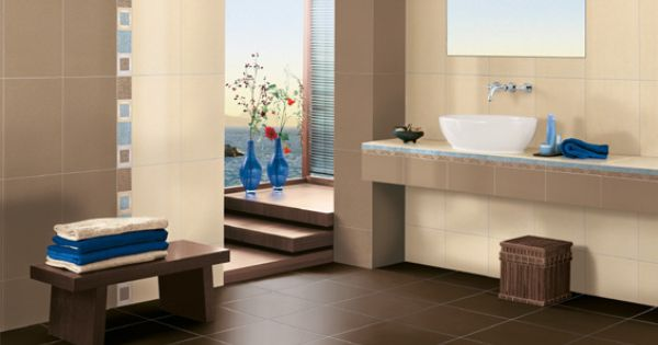 design#5002237: badezimmer braun crème ? bad fliesen braun creme, Innenarchitektur ideen