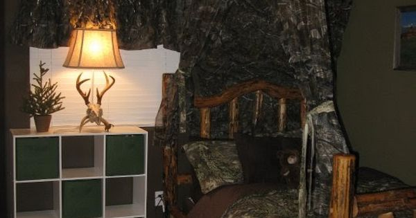 boys room in a hunting realtree camo theme for the home pinterest