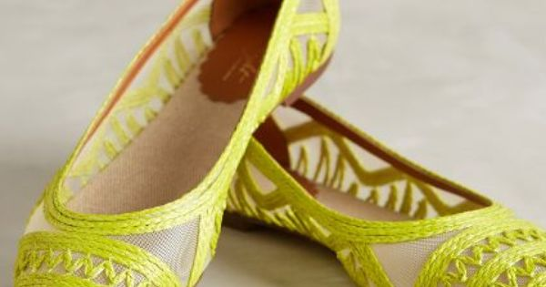 Flat shoes - Miss Albright Tortola Skimmers - #anthrofave