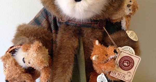 Boyds Bear Limited Edition Fern Woodsbeary Tj S Best