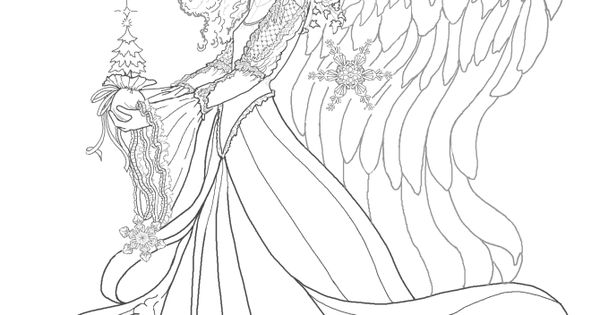 Exotic Fairy Coloring Pages Enchanted