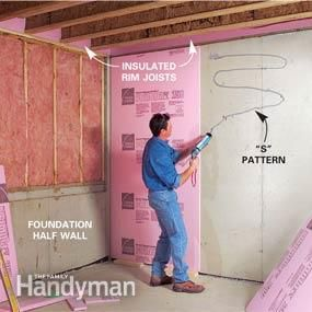 How To Finish Frame And Insulate A Basement Basement Insulation Finishing Basement Diy Basement