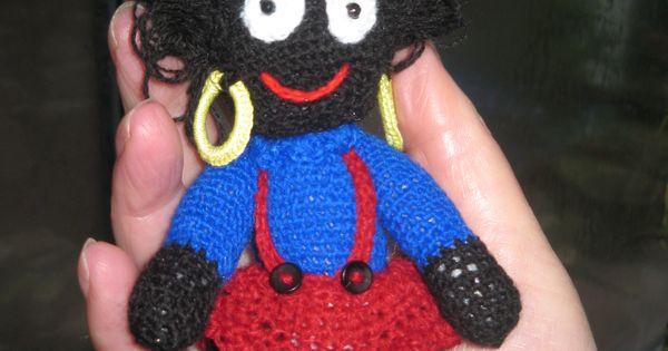 Just finished Molly Golly amigurumi golliwog doll ...