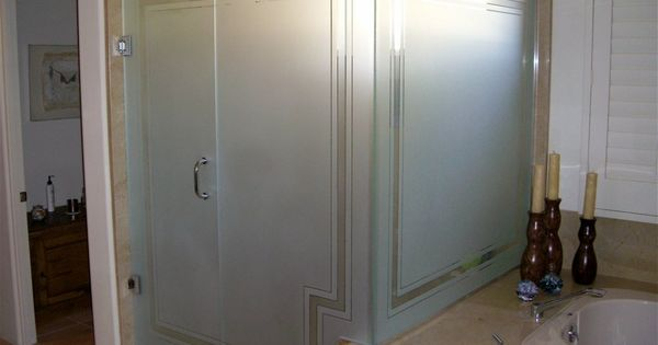 Frosted Glass Shower Panels For Privacy Or Decoration In