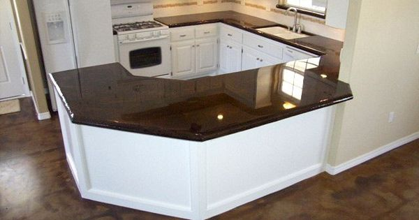 Concrete Countertops Diy Will Do Charcoal With Glass