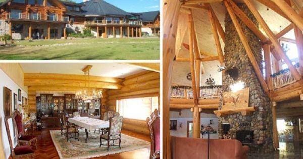 Moberly Lake Log Cabin I Ll Take It Cabin Dream House Plans Log Cabin