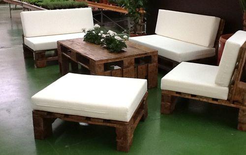Muebles de palets en sevilla muebles ecologicos de dise o for Muebles de jardin de palet