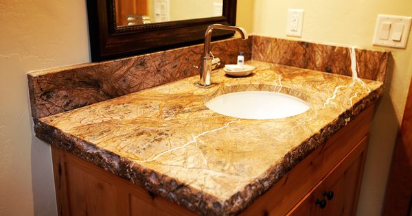 Granite Counter Tops With Brokenrough Edge House Ideas