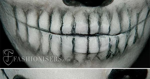 Lady Gaga Inspired Halloween Skull Makeup Tutorial halloween halloweenmakeup makeuptutorial