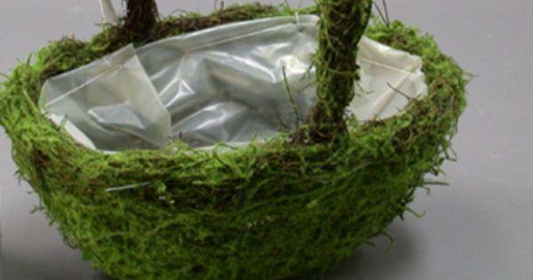 C mo hacer maceteros de musgo macetas plantas y jardin - Como hacer maceteros ...