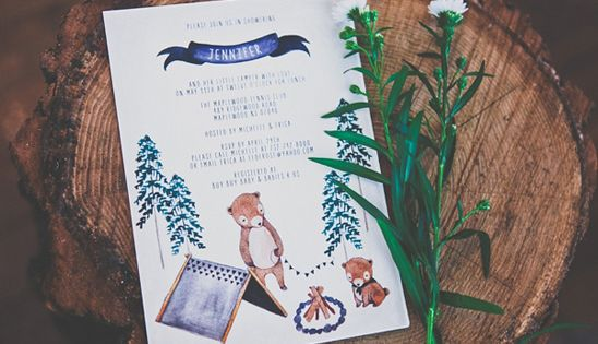Camping Themed Baby Shower By Erica From Itu0027s An Occasion Events Via  Www.babyshowerideas4u.com #babyshowerideas4u | Pinterest