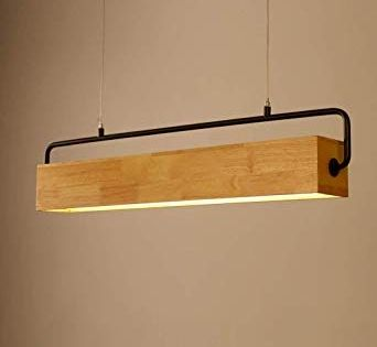 Qaz Holz Hangeleuchte Hangend Handgefertigte Beleuchtung
