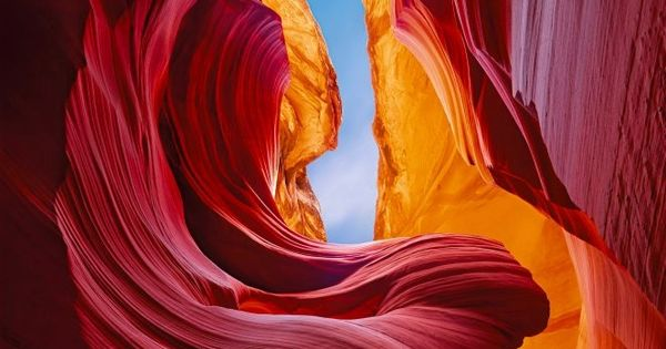 Antelope Canyon in Arizona is the most-visited and most-photographed slot PeterLik canyon