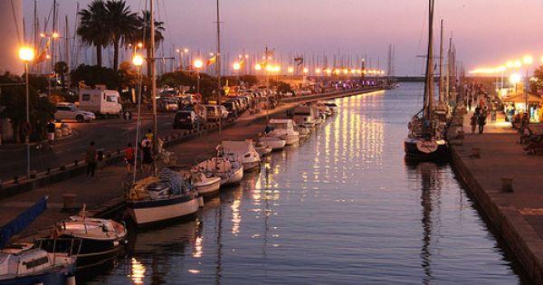 Viareggio Porto Canale Con Immagini Toscana Italia