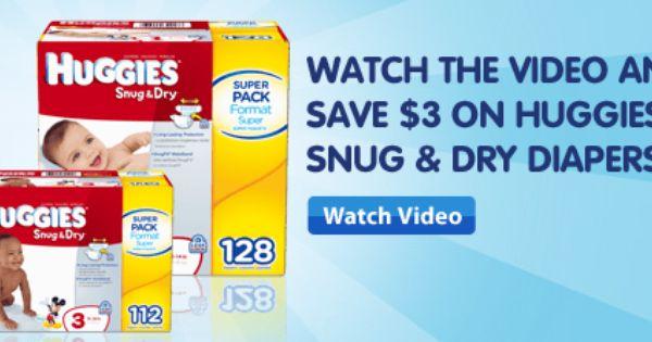 3 1 Huggies Printable Coupon More Diaper Coupons Money Saving Mom Diaper Coupon Huggies Diaper