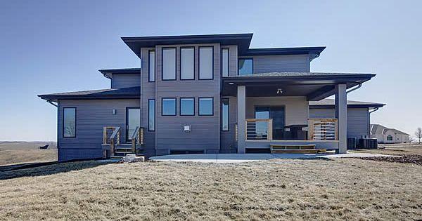Widhalm Custom Homes Omaha Woodland Model Prairie Modern