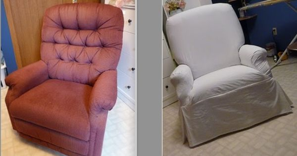 Pin By An Fo On Home Decor Diy Slipcovers For Chairs Sewing Room Decor Reupholster Furniture