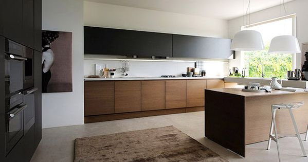 noyer noir mat cuisine pinterest bar et cuisine. Black Bedroom Furniture Sets. Home Design Ideas