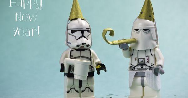 Happy New Year Lego Star Wars Birthday Star Wars Art Star Wars