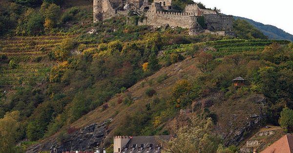 Castle Ruins Along The Danube Wachau Lower Austria