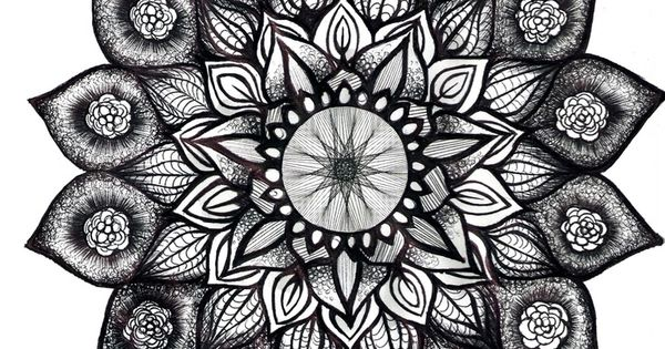 mandala this would be cool maybe with a compass in it