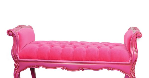 Isadora French Bench Fuchsia, now featured on Fab.