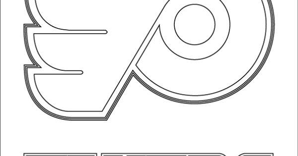 Philadelphia Flyers Logo coloring