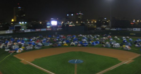 South Bend Boy Scout Girl Scout Silver Hawks Minor League Baseball Game Camp Out On Field Last Year Girls Was On F Minor League Baseball Baseball Camping Games