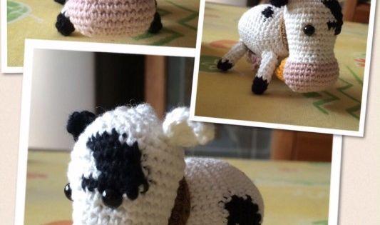 Amigurumi Crochet Diagram : Cow-amigurumi-533x800 SAL wieg te haken: diagram 1 ^ koe ...