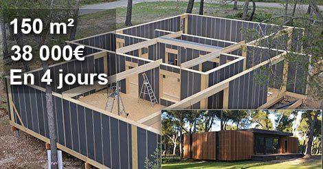 Construire Une Maison En Bois Pas Cher
