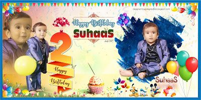 Cool Birthday Flex Design Images