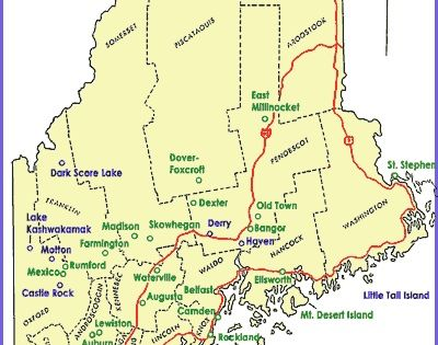 Stephen King39s Maine Maps Coooollll StephenKing