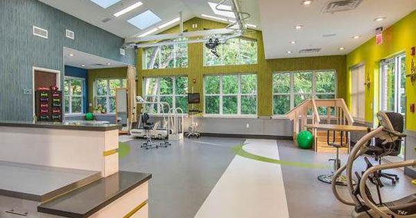 With Icon Interiors Healthcare Design Rehabilitation Center Architecture Architecture
