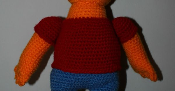 Crochet Stitches In Spanish : Bart simpson, Crochet free patterns and In spanish on Pinterest