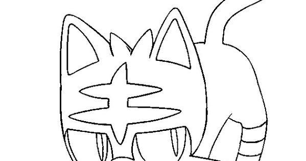 litten pokemon coloring pages - litten alvaro pinterest fotos de pokemon dibujos