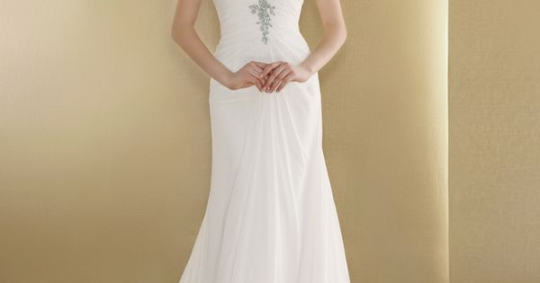 Halter Wedding Dress With Long Train,Simple Halter Neck