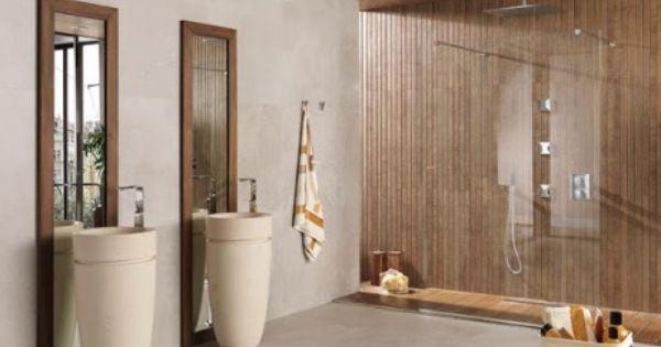 Porcelanosa novedades cersaie ceramico tegels parket en natuursteen badkamer tegeltrends - Porcelanosa tegel badkamer ...